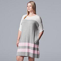 Plus Size Simply Vera Vera Wang Sleepshirt