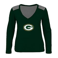 Plus Size Green Bay Packers Wide Open Tee
