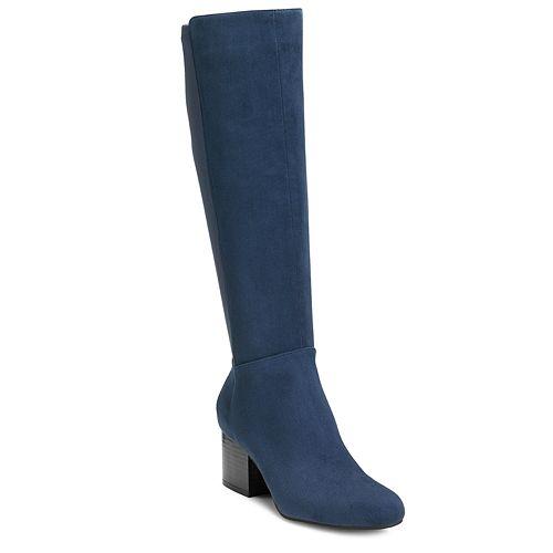 A2 by Aerosoles Condo Women's High Heel Knee High Boots