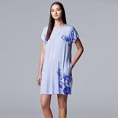 Women's Simply Vera Vera Wang Floral Sleepshirt