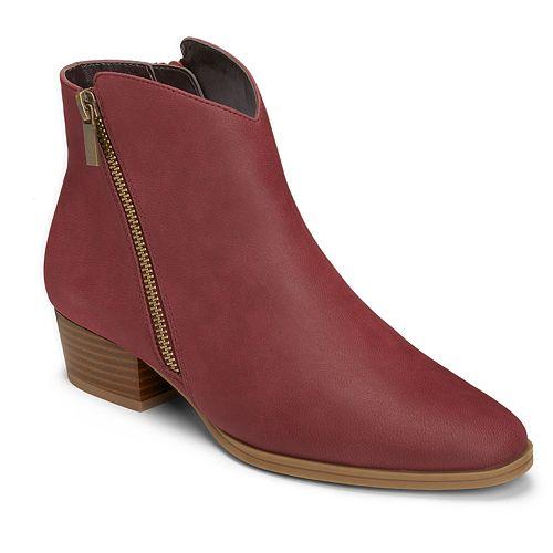 A2 by Aerosoles Cross Over Women's Zipper Ankle Boots