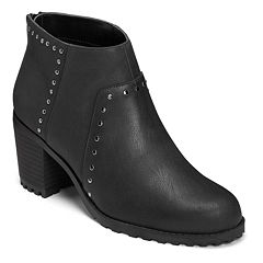 A2 by Aerosoles Inclusive Women's Studded Ankle Boots