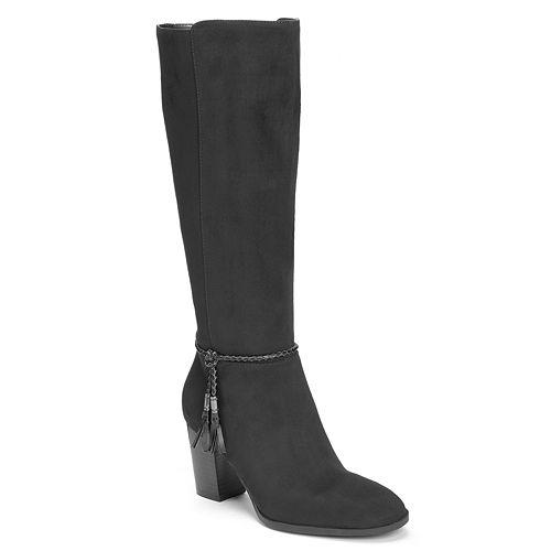 A2 by Aerosoles Stone Wall Women's High Heel Knee High Boots