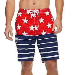 0f869bb3d2840 Men's SONOMA Goods for Life™ Flexwear Swim Trunks