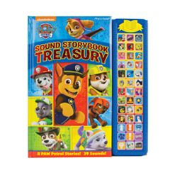 Paw Patrol Sound Storybook Treasury by PI Kids