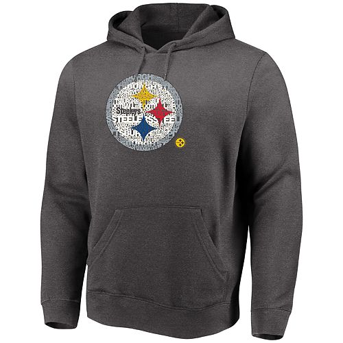 Big   Tall Pittsburgh Steelers Pullover Hoodie 82dccd918