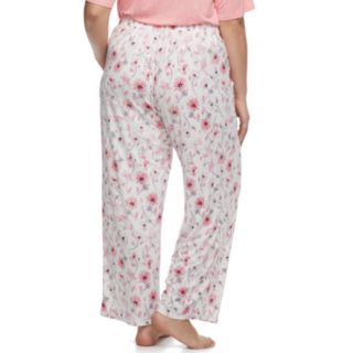 Plus Size Croft & Barrow® Printed Pajama Pants