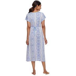 Women's Croft & Barrow® Dolman Midi Nightgown