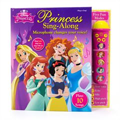 Disney Princess Sing-Along Book by PI Kids
