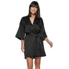 cc79552905 Women s Apt. 9® Satin Wrap Robe