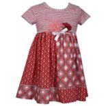 Baby Girl Bonnie Jean Rosette Pieced Dress