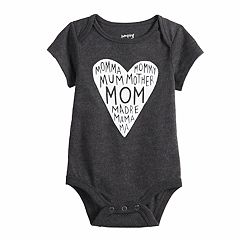 Baby Jumping Beans® Slogan Graphic Bodysuit