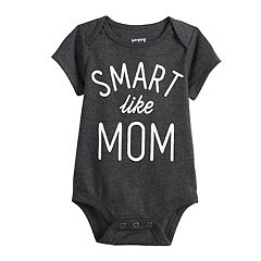 Baby Jumping Beans® Slogan Graphic Bodysuit
