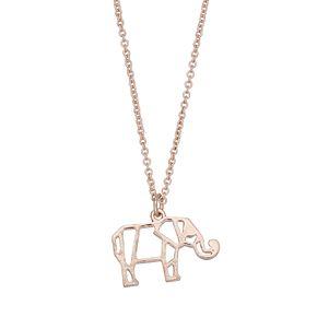 LC Lauren Conrad Elephant Pendant