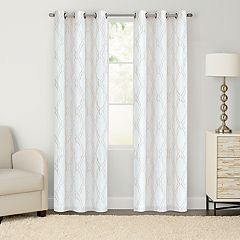 SONOMA Goods for Life™ Monticito 2-pack Embroidered Window Curtains