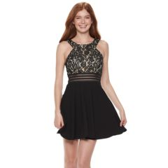 Juniors Fit And Flare Dresses Clothing Kohl S