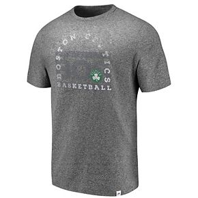 Men's Majestic Boston Celtics Static & Fade Tee