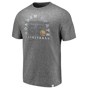 Men's Majestic Golden State Warriors Static & Fade Tee