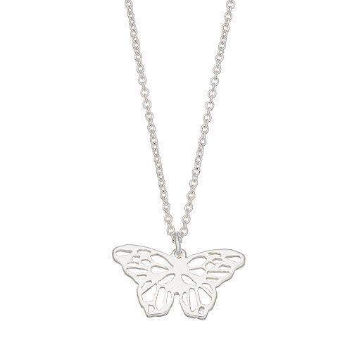 LC Lauren Conrad Butterfly Pendant