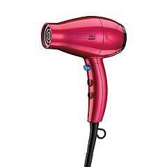 InfinitiPro by Conair MiniPro Plus Compact Hair Dryer - Red
