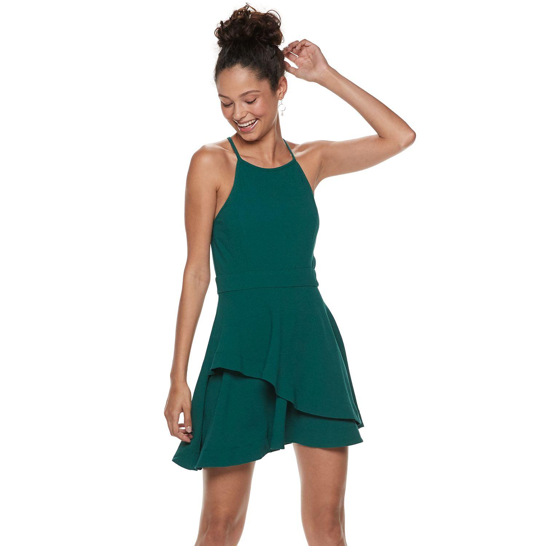 Layered Skater Dress