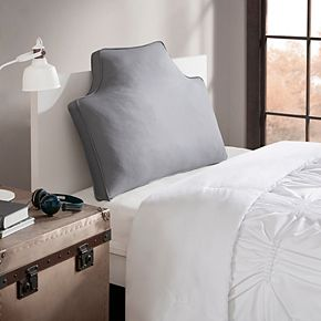 Intelligent Design Cotton Canvas Oversized Headboard Throw Pillow