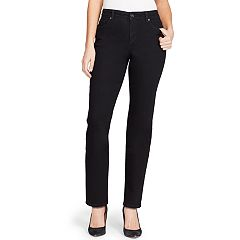 b4797ffe1d Women s Bandolino Mandie Classic MidRise Straight-Leg Jeans