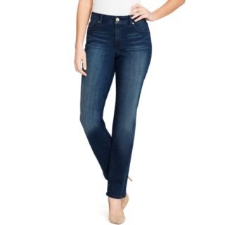 Women's Bandolino Mandie Classic MidRise Straight-Leg Jeans