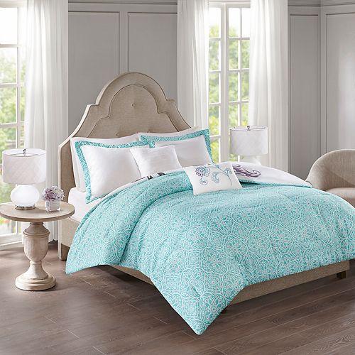 510 Design Gratia 5-piece Reversible Print Comforter Set