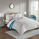 510 Design Ogdon 5-piece Reversible Print Duvet Cover Set