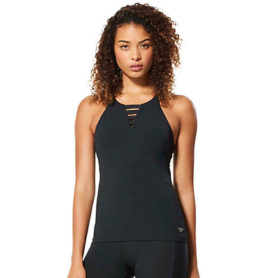 Women's Speedo Aqua Elite High Neck Swim Tank