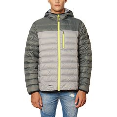 Men's Skechers Packable Down-Filled Hooded Jacket