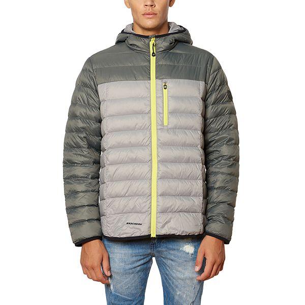 Iniciativa Martin Luther King Junior Hablar  Men's Skechers® Packable Down-Filled Hooded Jacket