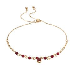 LC Lauren Conrad Dyed Quartz Birthstone Adjustable Bracelet