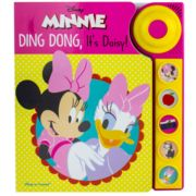 Disney's Minnie Ding Dong It's Daisy Play-A-Sound Book by PI Kids