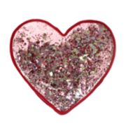 Celebrate Valentine's Day Together Shaped Heart Reversible Sequins Throw Pillow