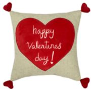 Celebrate Valentine's Day Together Happy Valentine's Day Mini Throw Pillow