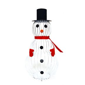 New View Snowman Cork Catcher Table Decor