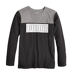 Boys 8-20  PUMA Colorblock Tee