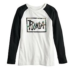 Boys 8-20 PUMA Graphic Raglan Tee