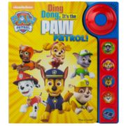 Ding Dong It's The Paw Patrol Play-A-Sound Book by PI Kids