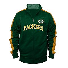 Big & Tall Green Bay Packers Streak Track Jacket