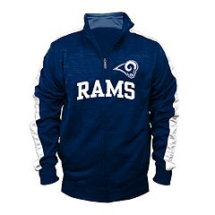 Big & Tall Los Angeles Rams Streak Track Jacket