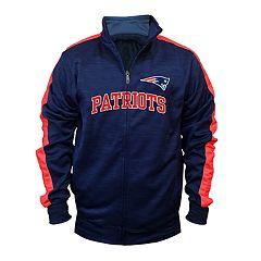 Big & Tall New EnglandPatriots Streak Track Jacket