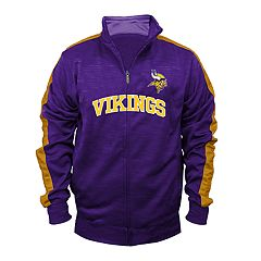 Big & Tall Minnesota Vikings Streak Track Jacket