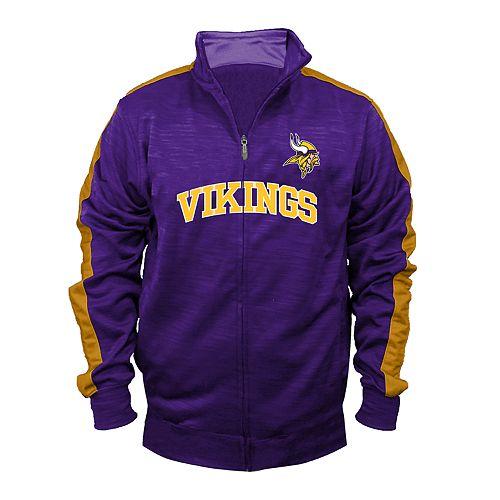 huge selection of 90e57 7a2d8 Big & Tall Minnesota Vikings Streak Track Jacket