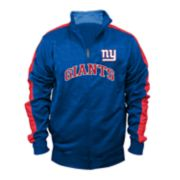 Big & Tall New York Giants Streak Track Jacket