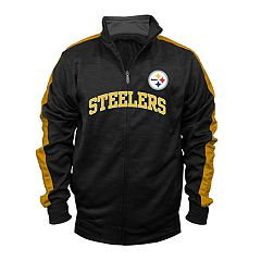 Big & Tall Pittsburgh Steelers Streak Track Jacket