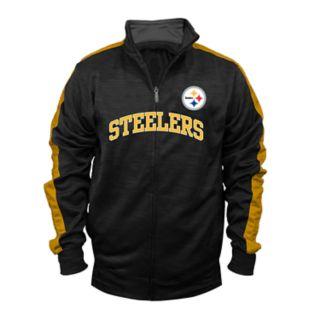 Big & Tall Pittsburgh Steelers Streak Track Jacket