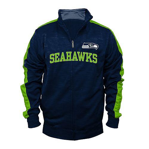 Big & Tall Seattle Seahawks Streak Track Jacket